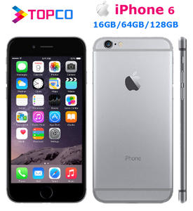 Apple iPhone 6 64GB/128G 1gb Nfc Dual Core Fingerprint Recognition 8MP Used Camera WIFI