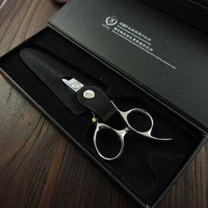 Image 5 - Titan barber shop stianless steel VG10  hand made sharp professinal hair scissors