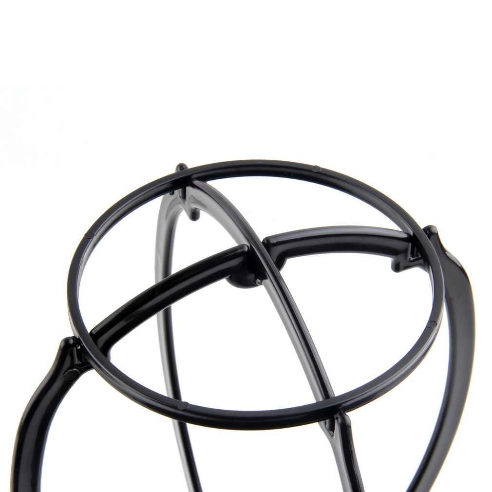 Opvouwbare Plastic Stabiele Verstelbare Pruik Bracket Hoed Display Pruik Mannequin Hoofd Beugel Pruik Drogen Beugel Pruik Display Salon Tool