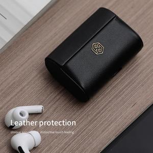 Image 1 - Nillkin Funda de cuero genuino para Airpods Pro, Funda inalámbrica para Airpods Pro, Funda para auriculares, Funda para Airpods Pro