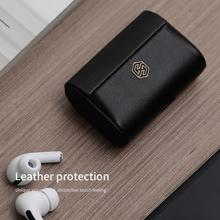 Nillkin Genuine Leather Case For Airpods Pro Wireless Bluetooth Cases for Airpods Pro Cover Earphone Case For Air Pods Pro Funda