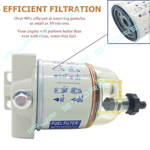 Image 5 - iFJF R12T Fuel/ Water Separator Filter diesel engine for Racor 140R 120AT S3240 NPT ZG1/4 19 Automotive Parts Complete Combo