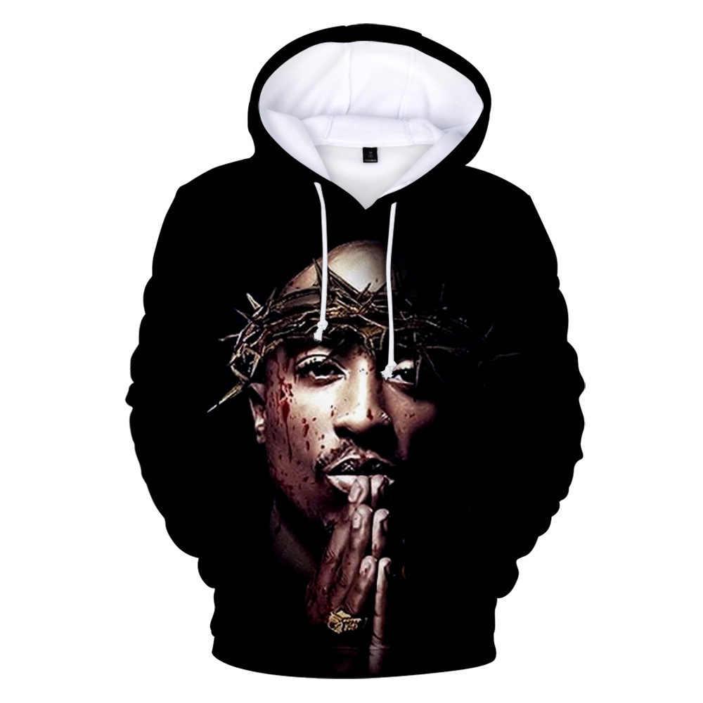 Up to date 3D Print Streetwear Hip Hop Men 2PAC Hoodies Hoodie Women Men Long Sleeve Harajuku Clothing Coat
