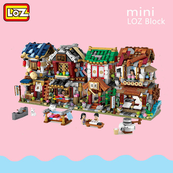 2020 New Arrive LOZ Diamond Block World Famous Architecture Series City Building Blocks Classic Toys Model House gift 1735 1736