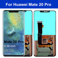 цена на Original For Huawei Mate 20 pro LCD Display Touch Screen Digitizer Assembly for Mate 20 Pro Display+fingerprint MATE20 PRO LCD
