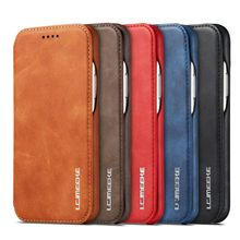 For iPhone 11 XI Max XIR XI Luxury Magnetic Flip Leather Wallet Stand Case Cover Shockproof XS MAX Pro