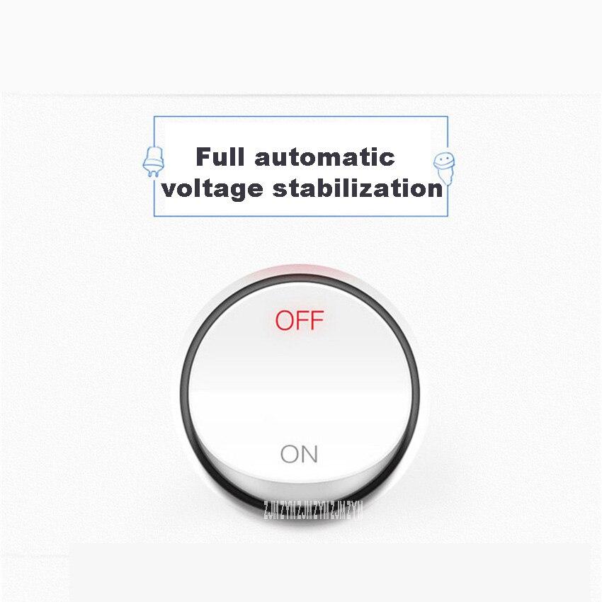 SVC 3KVA bobina de cobre alta precisão regulador de tensão do agregado familiar totalmente automático ar condicionado monofásico regulador de tensão - 3