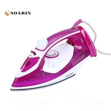 лучшая цена 2000W Steam Iron Handheld Adjustable Multifunction Portable Iron Machine Ceramic Soleplate Electric Steam Iron For Clothes