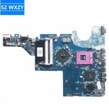 Hoge Kwaliteit Pc Voor Hp G72 G62 CQ62 G42 Laptop Moederbord 616449-001 DDR2 DAAX3MB16A1 DAAX3MB16A2 100% Getest Snelle schip