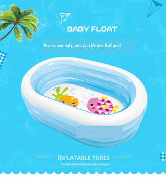 Hot Swimming Pool Inflatable Paddling Pool Home Bath Pool Indoor Thickened Children's Ocean Ball Toy Pool Inflatable Pool  Baby children multi layer bathing tub baby home paddling pool inflatable summer swimming pool kids inflatable pool ocean ball