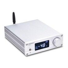 新しいVOL 01ハイファイNJW1194のbluetooth 5.0 aptx受信リモートプリアンプ5双方向オーディオプリアンプledディスプレイ