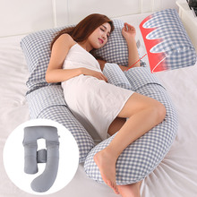 Pillowcase Sleeping-Support-Pillow Pregnancy-Side Sleeper-Bedding Baby-Toy G-Shape Pure-Cotton