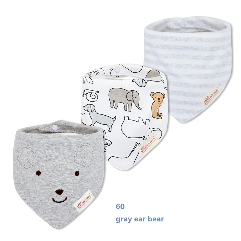 60 gray ear bear