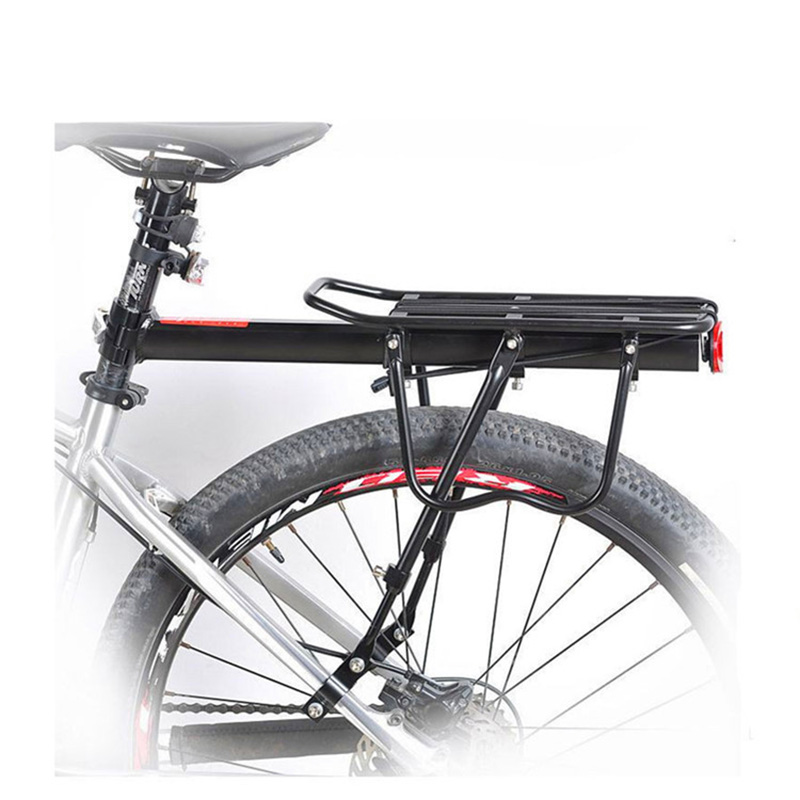 Bike Carrier Rack Bicycle Mount Cycling Cargo Racks Seatpost Rear Luggage /& Bag
