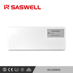 SASWELL Thermostat Temperatur Controller für zimmer wasser fußbodenheizung thermostat 8 zone RF wireless Temperaturregler