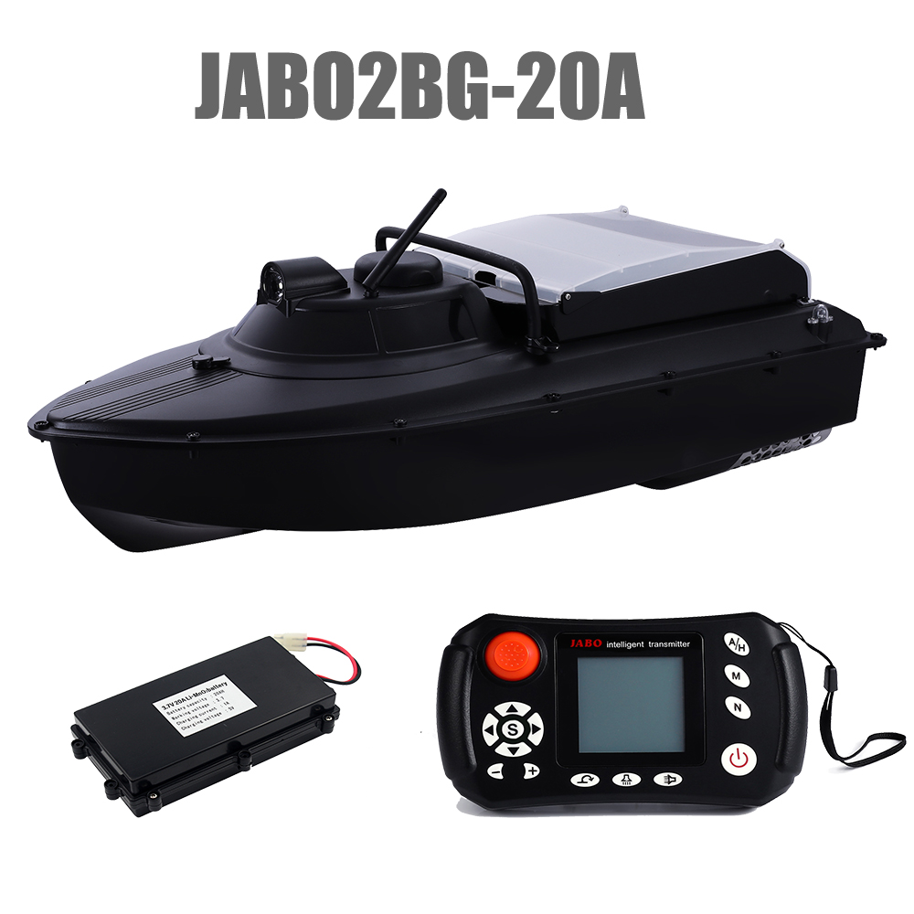 Russian Warehouse JABO2BG-20A GPS Automatic Navigation Fish Finder Bait Boat