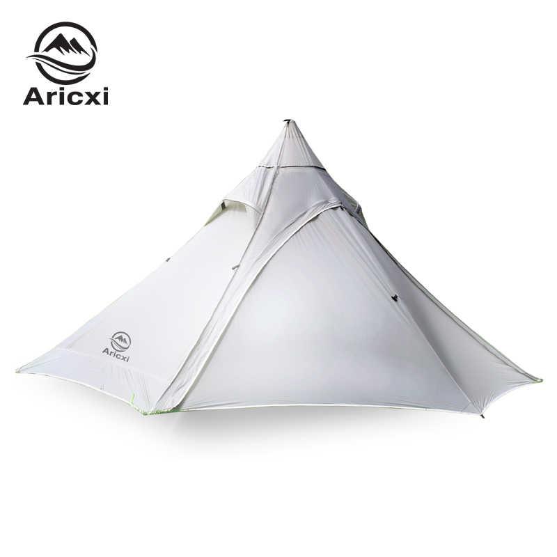 1000g Oudoor Ultralight Camping namiot 3 sezon 2 osoby profesjonalne 20D Nylon krzemu powłoka bezdzietna namiot