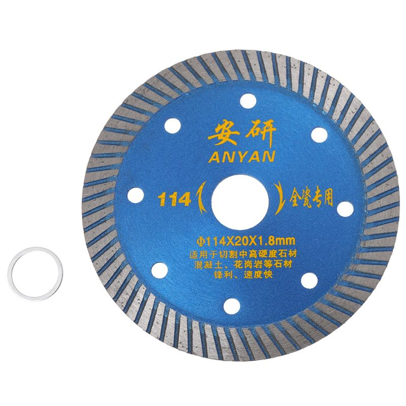 4.5 Inch Diamond Ceramic Saw Blade Disc Wheel Sharp Cutter Porcelain Tile Marble