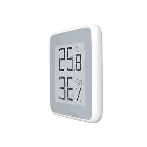 Image 2 - Youpin MiaoMiaoCe E קישור מדחום טמפרטורת לחות חיישן דיו מסך תצוגה דיגיטלי לחות מד לחות LED עבור בית