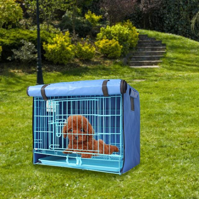 Dog Kennel With Cover  3