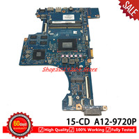 For HP PAVILION 15 CD 15Z CD 17 AR Laptop Motherboard 926289 601 926289 001 926289 501 DAG94AMB8D0 G94A mainboard A12 9720P
