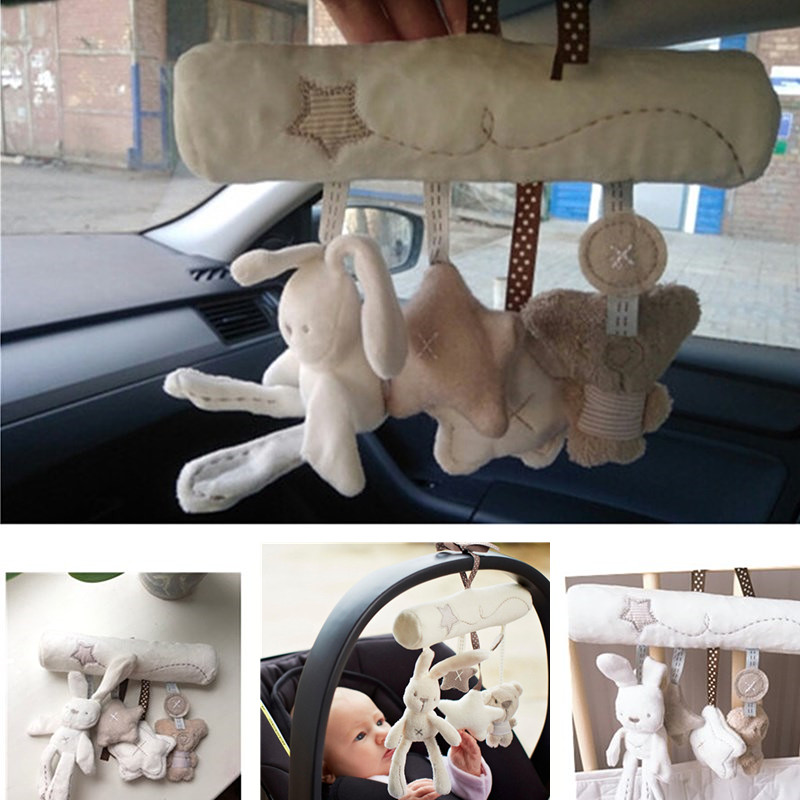 Mainan bayi buaian lembut kereta dorong mainan bayi spiral mainan - Mainan untuk kanak-kanak - Foto 6