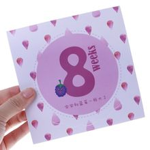 14 14 Pcs/Set Month Sticker Pregnant Women Photography Monthly Adhesive Stickers Landmark Floral Coming Soon Belly Clothing цена 2017
