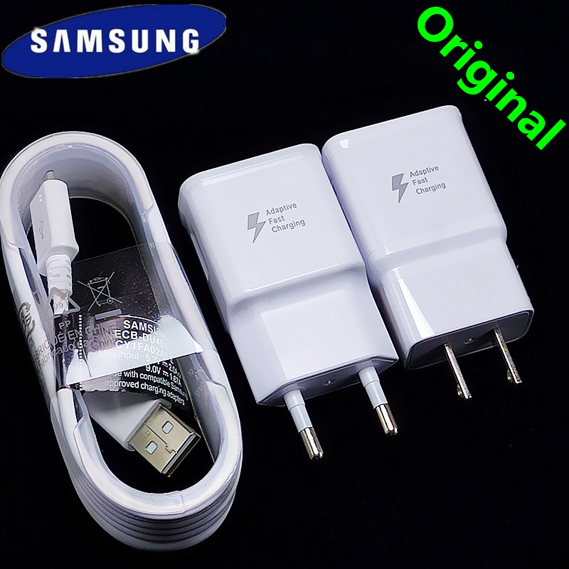 Samsung Charger Adaptive Micro-Cable S7-Edge A5 J7 Note USB 1 For A8 A7 A6 A9 C5 C7 J5