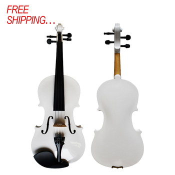 Kinglos wysoka jakość niska cena ręcznie szyte na miarę kolorowe uczeń skrzypce akustyczne tanie i dobre opinie CN (pochodzenie) Spruce Brazil Wood Carbon Fiber Ebony PJCB001 Maple