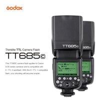 Godox TT685 Flash TTL HSS Camera Flash Speedlite for Canon Nikon Sony Fujifilm Olympus Camera DSLR Speedlight Studio GODOX