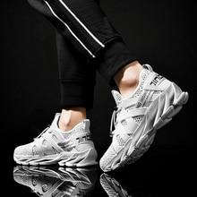 2020 Fashion Sneakers Lightweight Men Casual Shoes Breathable Male Footwear Lace Up Walking Shoe men shoes casual canvas lightweight lace up sneakers breathable jogging skateboard men flats slip shoes male footwear nanx201