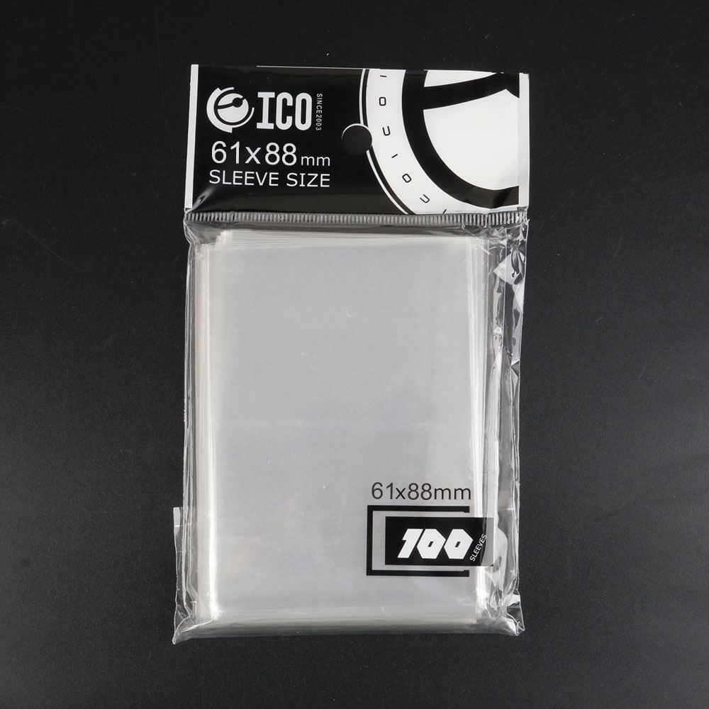 100pcs/pack High Quality Card Sleeves 61x88 Mm Card Protector For Magical Gathering Board Game Card Transparent Outdoor Games