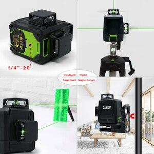 Image 4 - Clubiona CE Certificated 3D Đường Laser Với Pin 5200 Mah & Ngang Và Dọc Đường Làm Việc Riêng Đường Laser