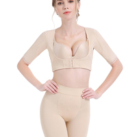 Upper Arm Shaper Chest Supports for Women Post Surgical Slimmer Compression Sleeves Humpback Posture Corrector Tops Shapewear