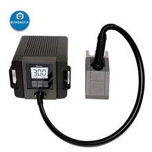 Tr1300a rápida estação de solda ar quente 1300w inteligente para o telefone móvel placa-mãe reparação digital estação de solda
