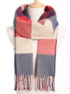 Scarf Women Foulard Warm Plaid Winter Fashion Bufandas VIANOSI Casual Hombre Solid