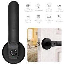 Elektronische Fingerprint Türschloss Empfindliche Intelligente Digitale Türschloss für Hotel Home Office zink-legierung