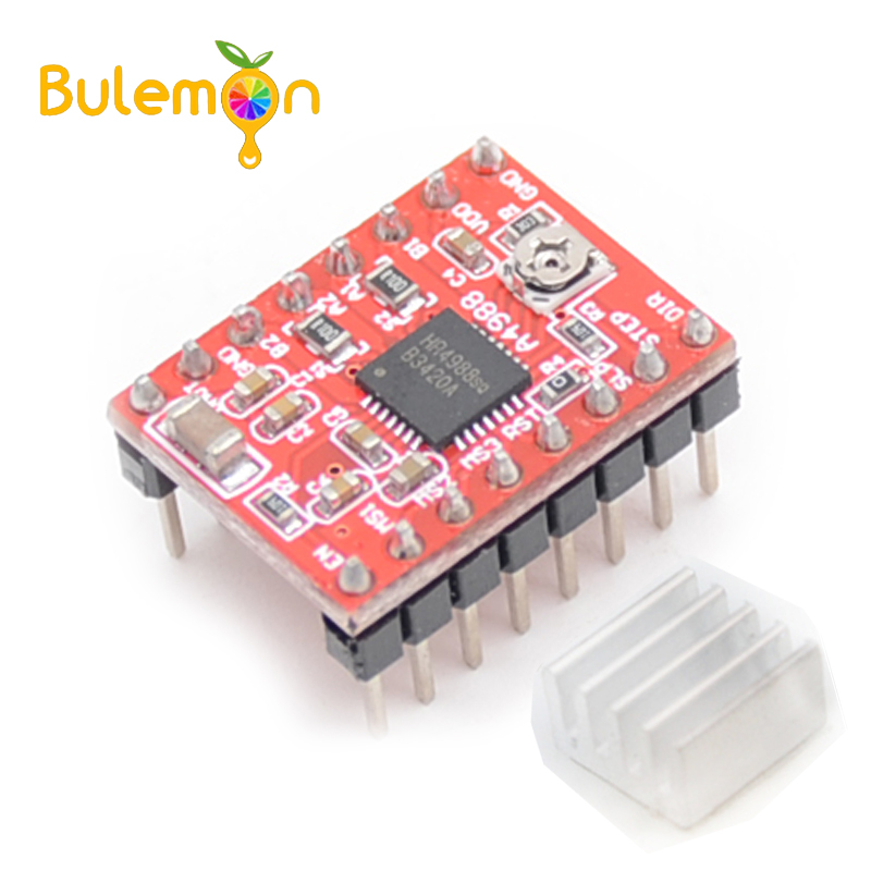 2pcs/lot Reprap A4988 Stepper Motor Driver