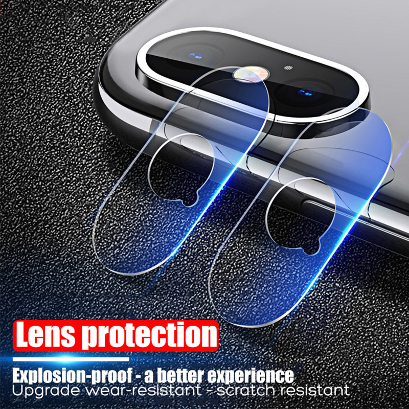 Camera Lens Film For IPhone 7 8 6 5S SE Clear Protective Len Screen Toughed Tempered Glass For IPhone 11 Pro X XR XS Max 6S Plus