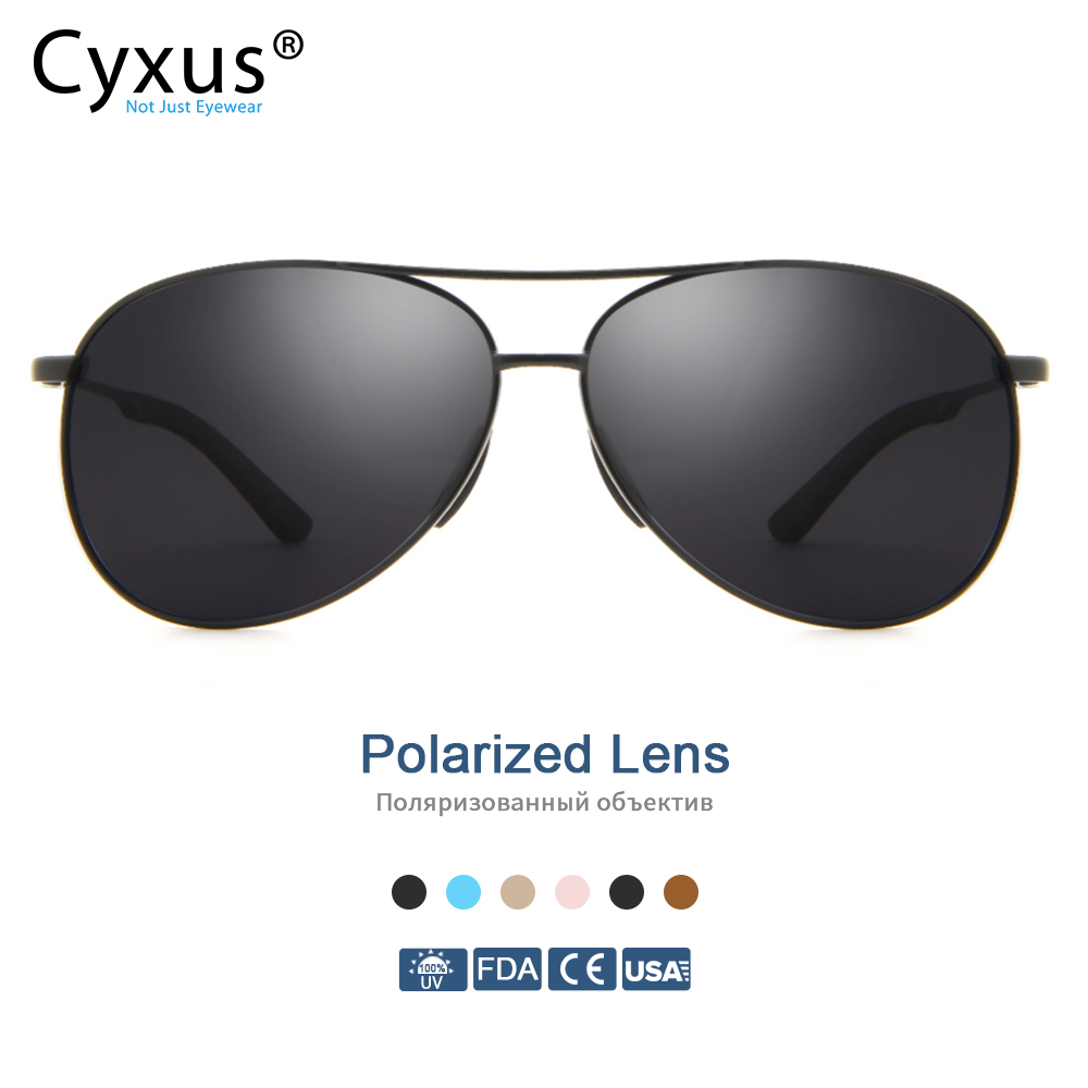 Cyxus Polarized Sunglasses for Men/Mens  Anti UV400 Classic Fashion Glasses For Travel Driving Fishing 1489