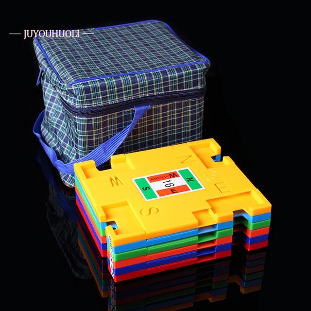 16 Stks/partij Professionele Brug Bieden Doos Kaarten Hele Set Vlakte Brug Bieden Kaarten Box Voor Professionele Brug Game Tournment