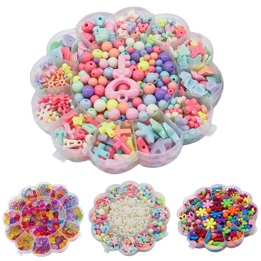 Colorful Style Multi-shape DesignDIY Handmade Beads Sunflower Star Art Craft For Jewelry Hair Accessory Making
