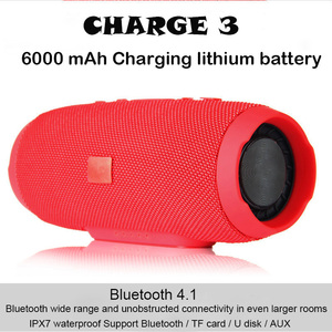 20W Portable Outdoor Wireless Bluetooth Speaker Super Bass Speaker Subwoofer Waterproof IPX7 Charge3 column speaker For phone/pc(China)