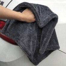 צדדים כפולים מיקרופייבר טוויסט לשטוף מגבת מקצועי סופר רך ניקוי ייבוש בד מגבות עבור מכוניות כביסה ליטוש שעווה