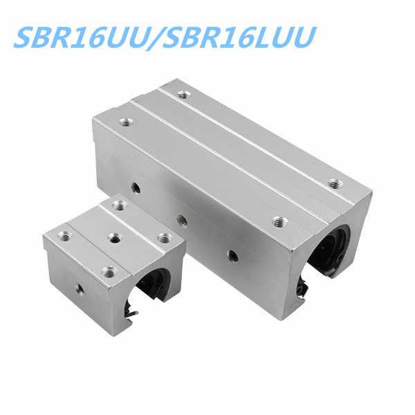 16mm Linear Rail block SBR16UU/SBR16LUU For SBR16 RAILS