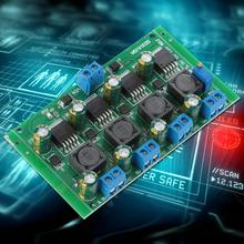 цена на dc to dc voltage converter 3A 4-Channel Step Down Power Supply Module 3.3V 5V 12V Adjustable Output Buck Converter