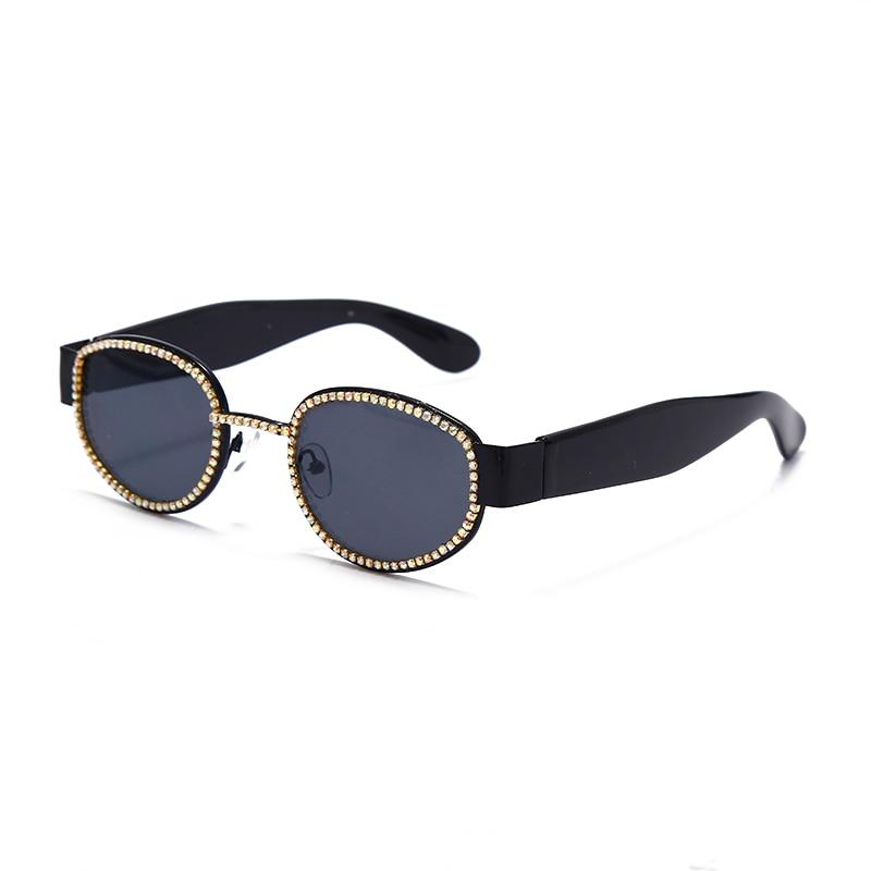 Diamond Vintage Sunglasses Women Luxury Brand Designer Round Rhinestones Sunglasses Retro Eyewear Steampunk Shades Uv400 Best Promo 0720a9 Cicig