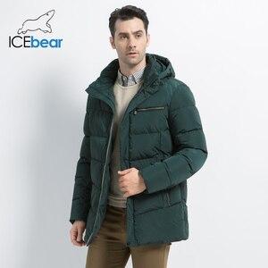Image 1 - 2019 nouveaux hommes manteau dhiver de haute qualité homme veste mode vêtements pour hommes chaud mâle Parka MWD19835D