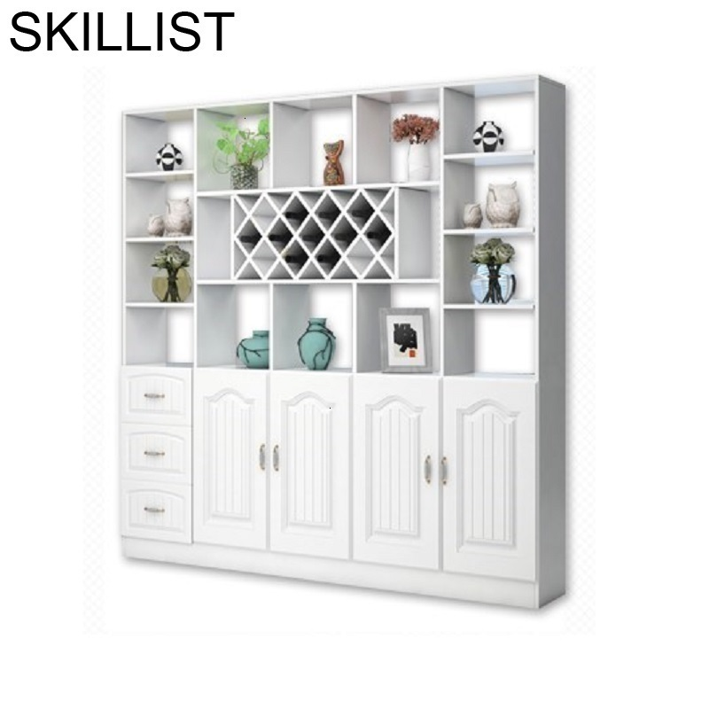 Storage Adega Vinho Kitchen Display Meube Living Room Desk Kast Meja Shelf Mueble Bar Commercial Furniture Wine Cabinet