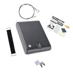 Material de acero laminado en frío pistola de huellas dactilares pistola segura caja Os100B seguro de pistola de huella digital pistola segura de huellas dactilares